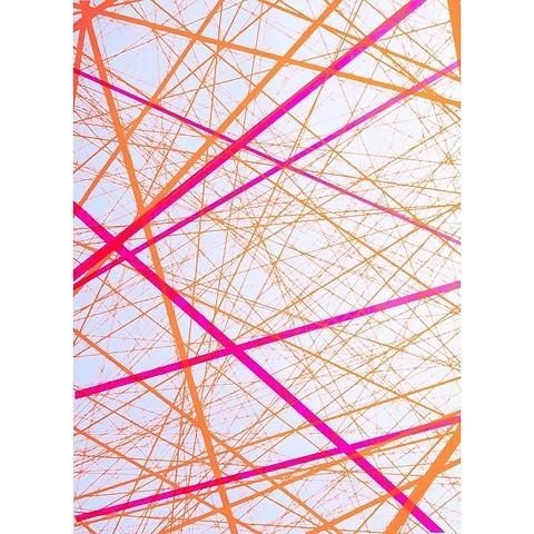 Bethge Geschenkpapier Network neon 50 x 70 cm, 3 Bögen