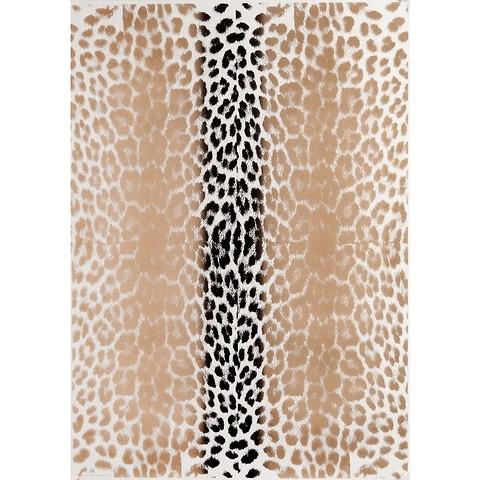 Bethge Geschenkpapier Leopard gold 50 x 70 cm, 3 Bögen