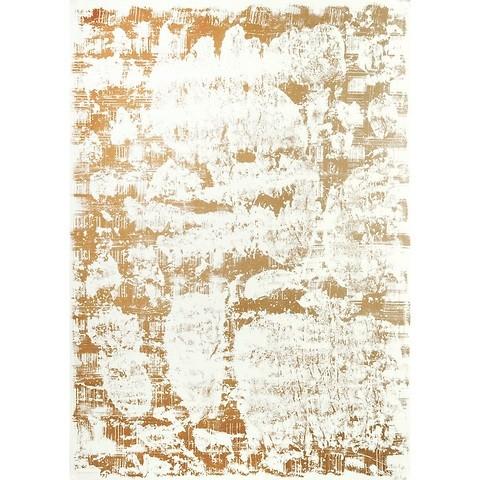Bethge Geschenkpapier Patina gold/ivory 50 x 70 cm, 3 Bögen
