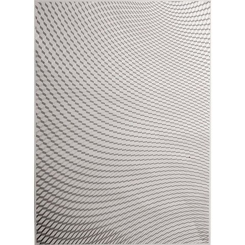 Bethge Geschenkpapier Soft Square grau 50 x 70 cm, 3 Bögen