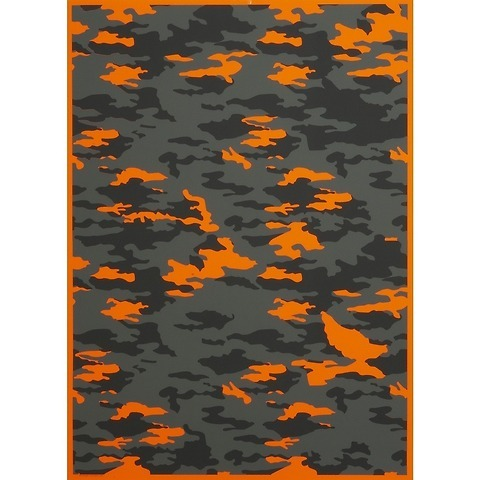 Bethge Geschenkpapier Camouflage 50 x 70 cm, 3 Bögen
