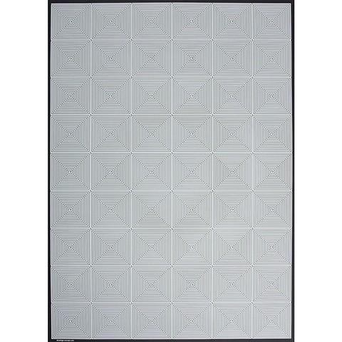Bethge Geschenkpapier Kachel weiß 50 x 70 cm, 3 Bögen