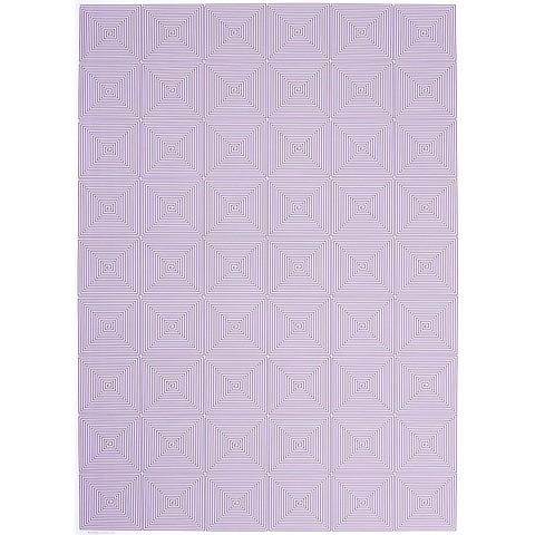 Bethge Geschenkpapier Kachel lila 50 x 70 cm, 3 Bögen
