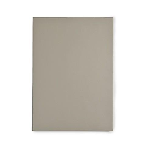 Notizbuch A5 Leder blanko taupe