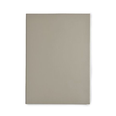 Notizbuch A5 Leder dotted taupe