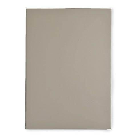 Notizbuch A4 Leder blanko taupe
