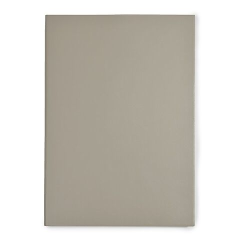 Notizbuch A4 Leder dotted taupe