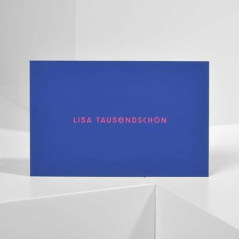 Bethge Visitenkarten 'Lisa Tausendschön'