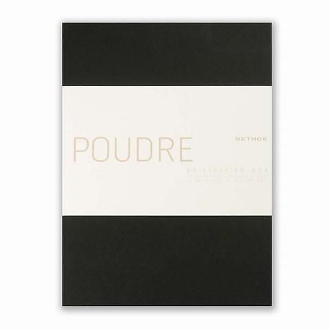 Briefpapier-Box Poudre Diplomat 20 BriefbogenDiplomat 17x22
