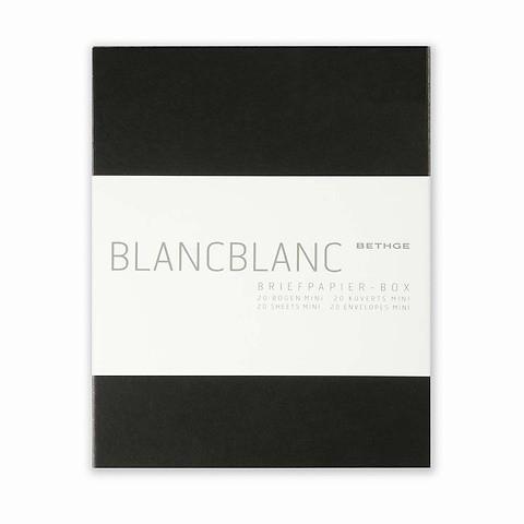 Briefpapier-Box BlancBlanc Mini 20 Briefbogen Mini 13,4 x 16