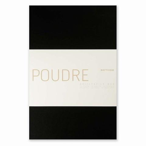 Briefpapier-Box Poudre A420 Briefbogen A4, 20 einfache