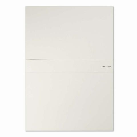 Briefpapier-Box GrandGris A4 mit 20 Briefbogen 20 Briefkarte