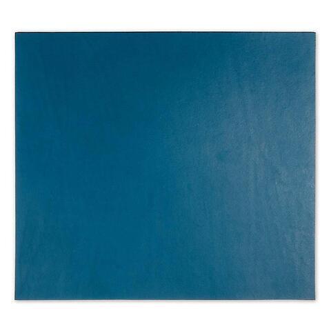 Mousepad Leder blau 28x25 cm