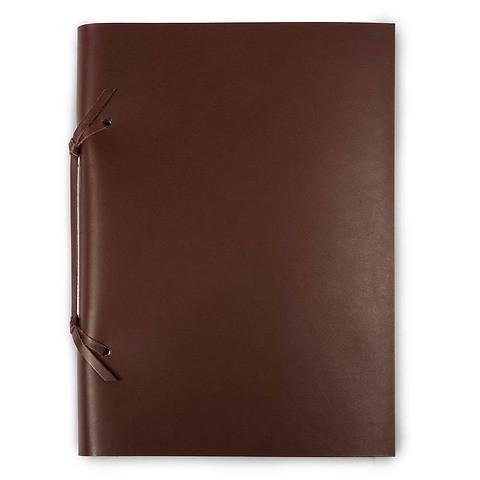 Skizzenbuch Quadernone Leder 21x30 cm