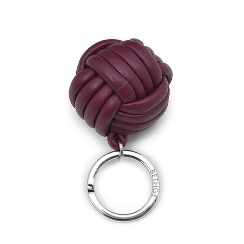 Schlüsselanhänger Knoten Leder