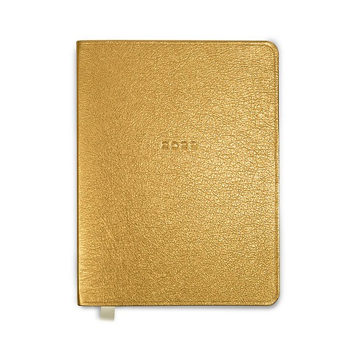 Kalender 1Woche/Notes 2022 Leder Goat Shiny